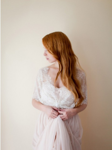 Lace Bridal Cover up