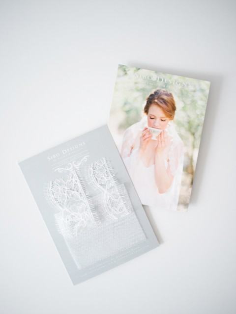 "SIBO Designs ""Style 217"" Veil Sample"
