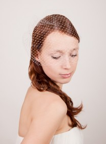 "SIBO Designs Birdcage Veil 12"" French Netting"