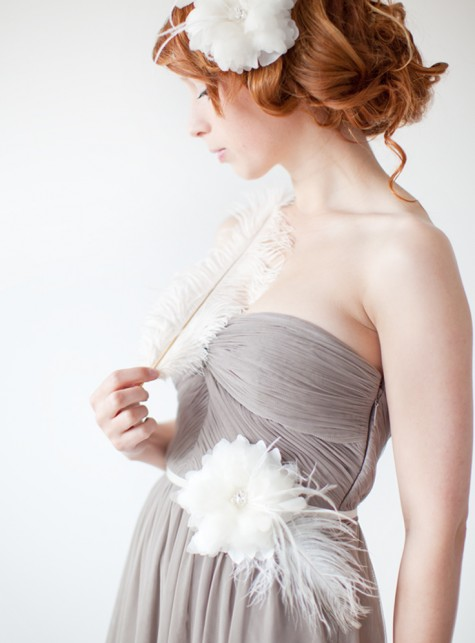SIBO Designs Finely Feathered Sash