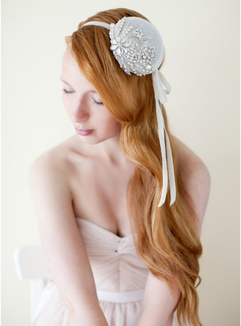 Crystal Bridal Fascinator
