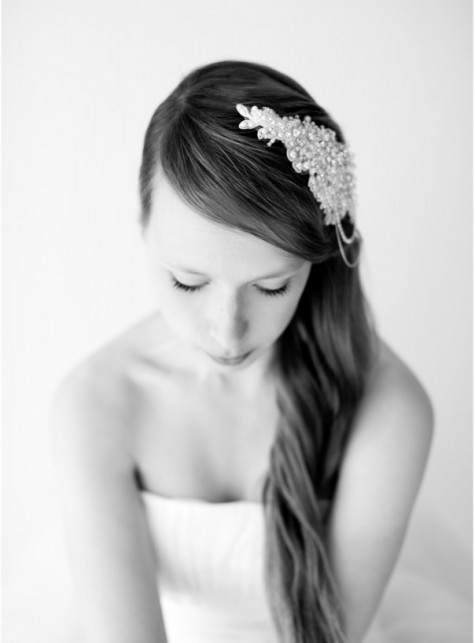Pearl Lace Bridal Adornment