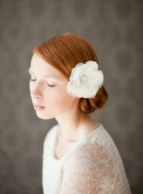 SIBO Designs Flower Headpiece - Rose