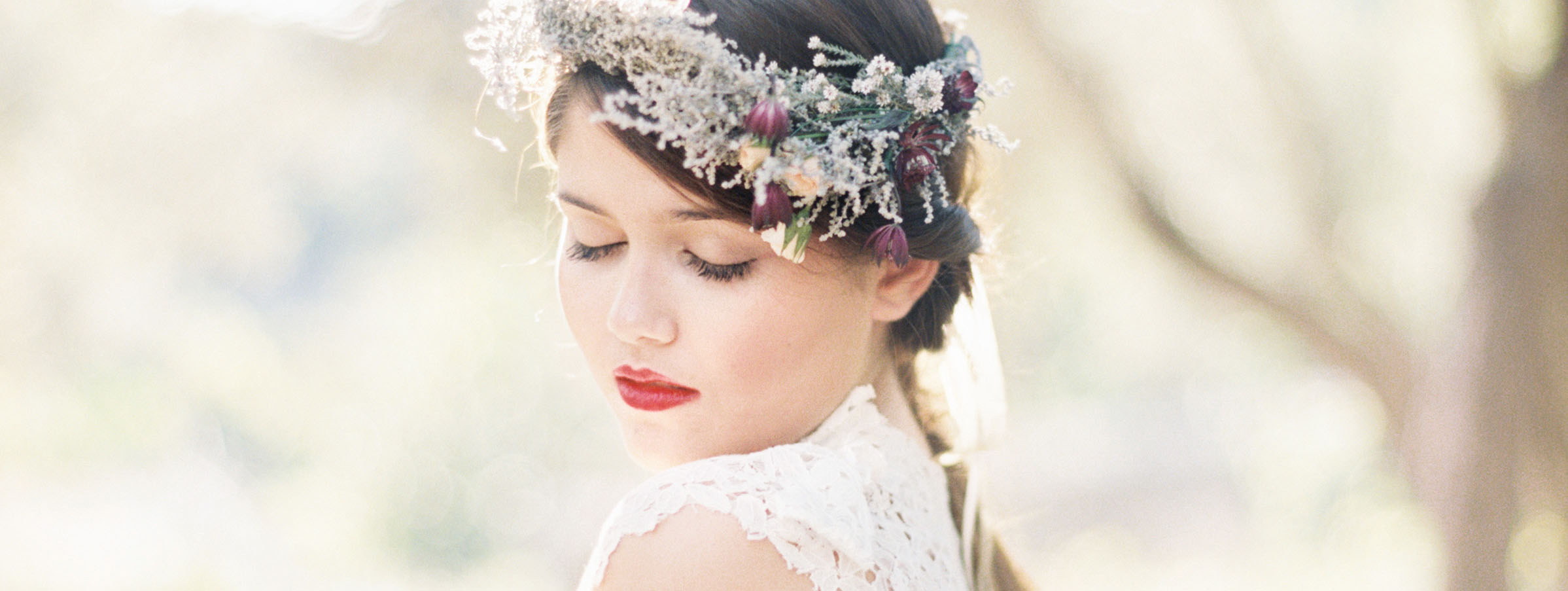 Bridal Inspirational Shoot for Hochzeitswahn - SIBO Designs Headpieces & Veils