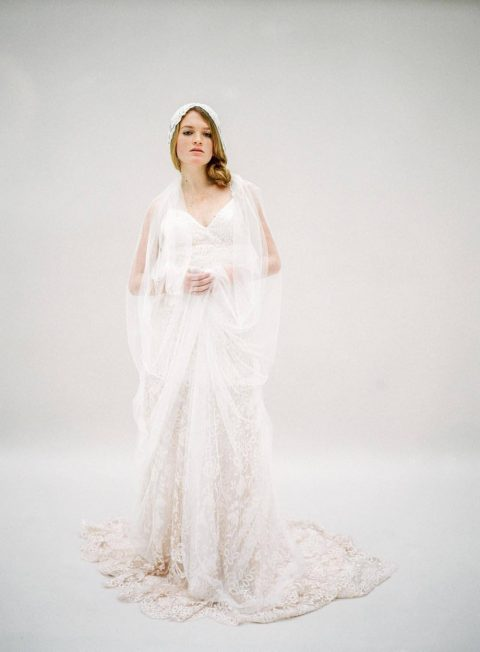 Sage - Bridal Gown - © SIBO Designs Bridal Adornments & Veils