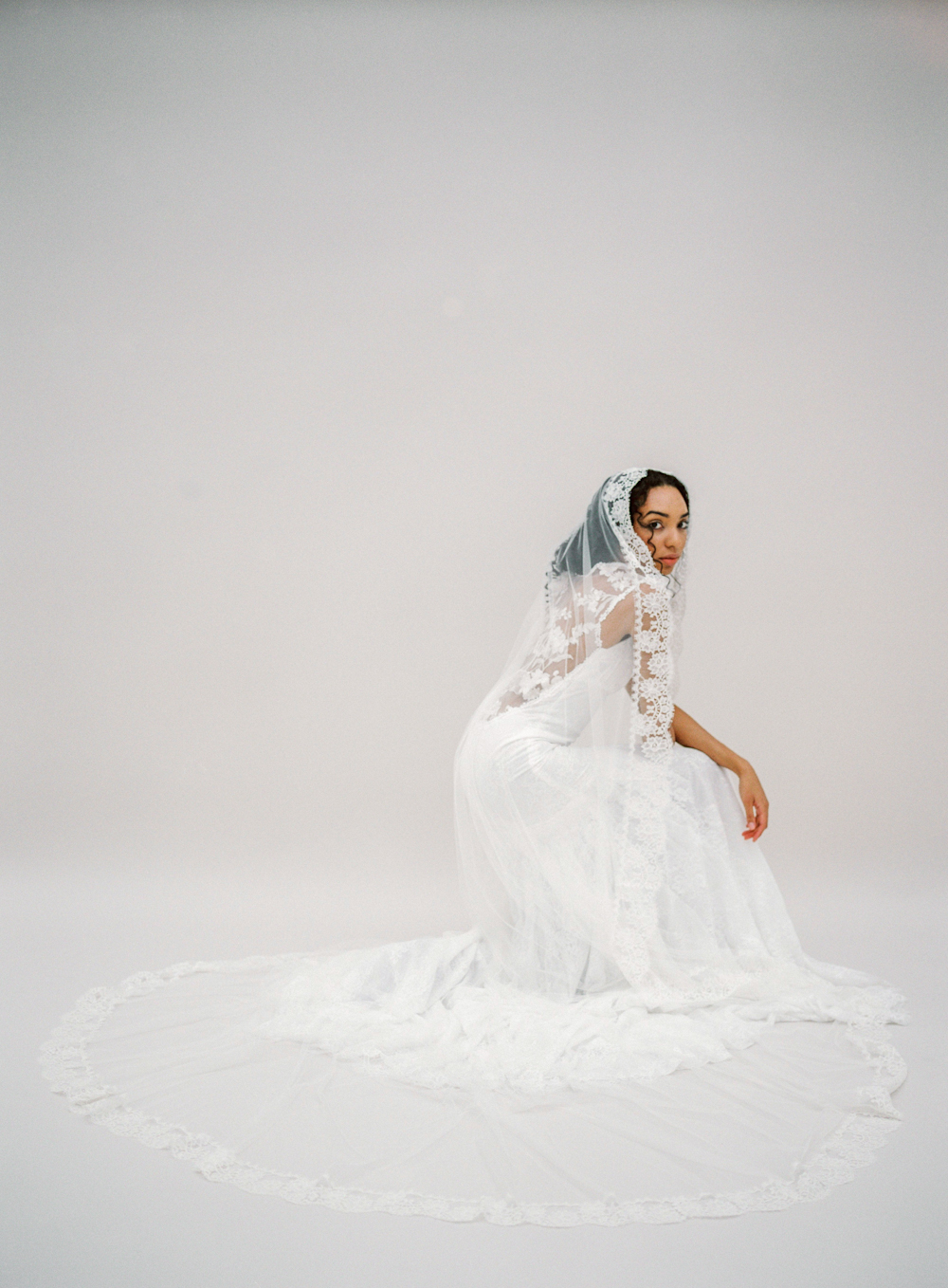 Salma - Bridal Gown - © SIBO Designs Bridal Adornments & Veils