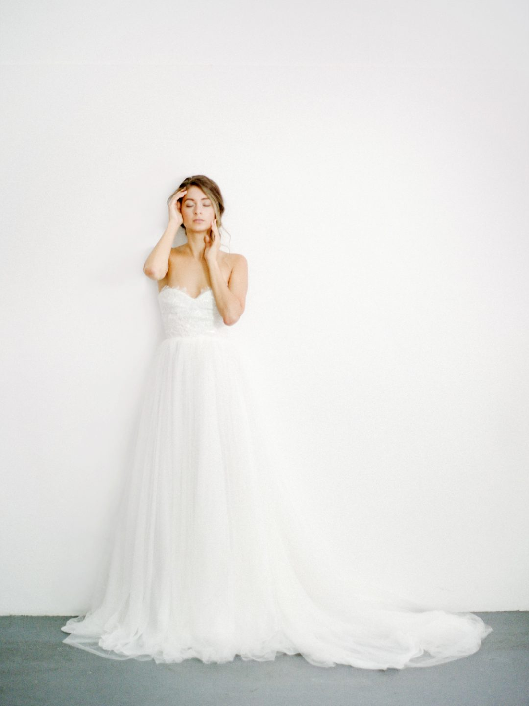 "SIBO Designs 2018 Collection - Couture Strapless Lace Bridal Gown ""Hope"" www.sibodesigns.com"