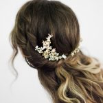 """SIBO Designs 2018 Collection - """"Style 706"""" Couture Crystal Bridal Headpiece www.sibodesigns.com"""