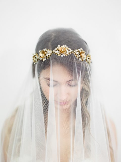"SIBO Designs 2018 Collection - ""Style 707"" Couture Bridal Headband www.sibodesigns.com"