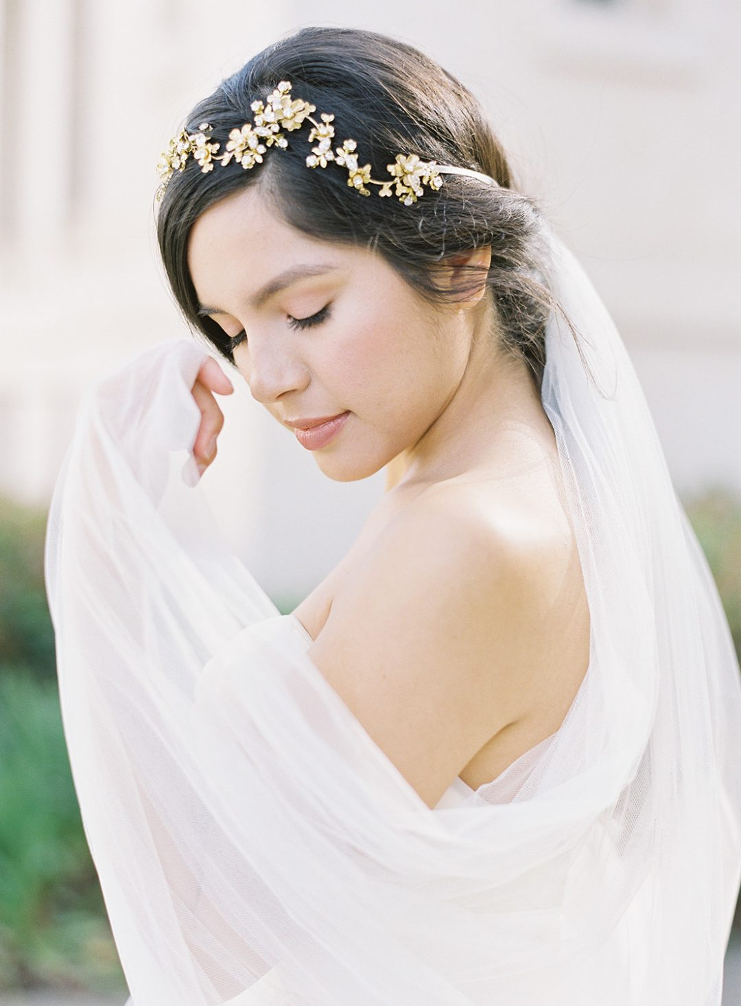 SIBO Designs 2014 Collection - Style 304 Tulle Cathedral Bridal Veil