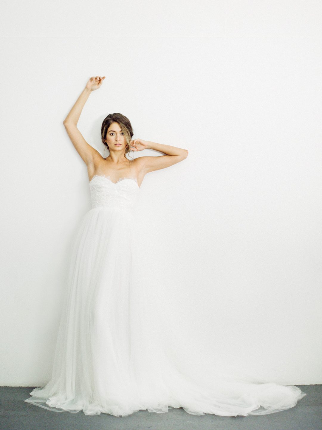 """SIBO Designs 2018 Collection - Couture Strapless Lace Bridal Gown """"Hope"""" www.sibodesigns.com"""