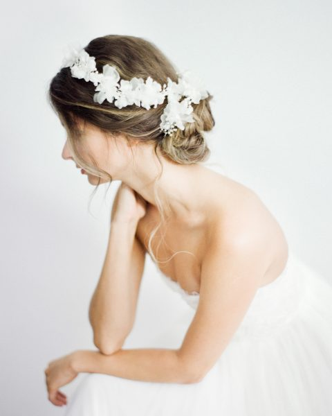 Silk Flower Bridal Headpieces Archives Sibo Designs Bridal