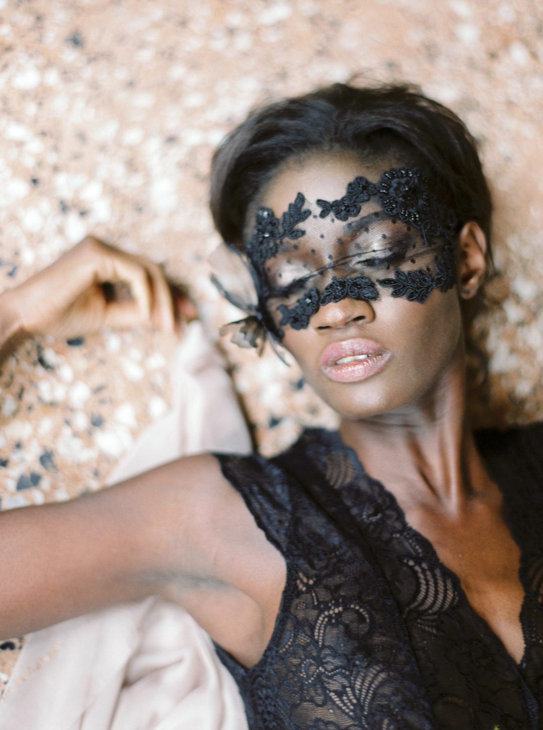SIBO Designs 2018 Collection - Lace Boudoir Mask Style 719 - www.sibodesigns.com