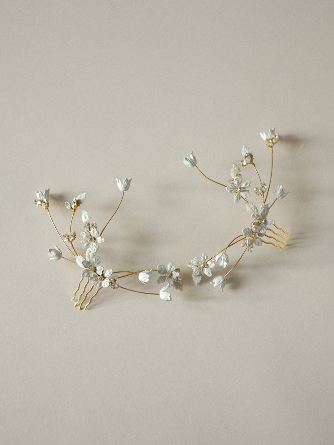 Style 811 - MODERN BRIDAL HEADPIECE by SIBO Designs Couture www.sibodesigns.com