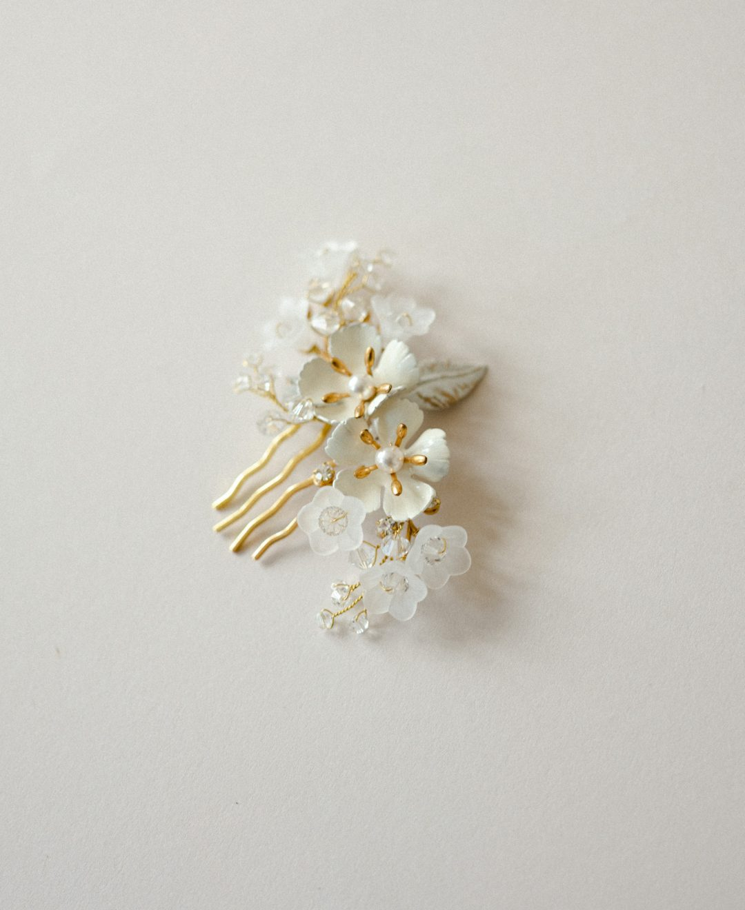 Style 813 - BLOSSOM BRIDAL HAIR PIN by SIBO Designs Couture www.sibodesigns.com