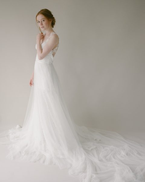 Style 819 - TULLE BRIDAL OVERSKIRT by SIBO Designs Couture www.sibodesigns.com