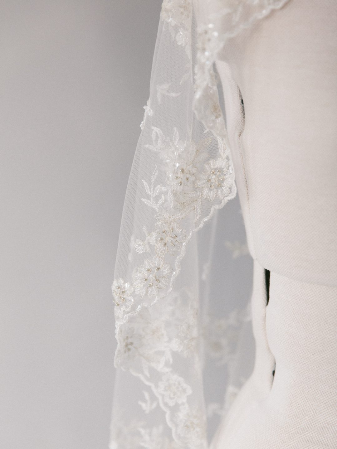 Lace Mantilla Veil - Timeless Romance - SIBO Designs www.sibodesigns.com